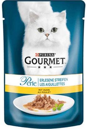 Gourmet Perle Izgara Tavuklu Kedi Konservesi 85 gr 12 Adet