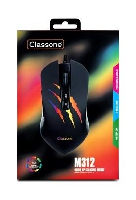 Classone M312 RGB Oyuncu Mouse