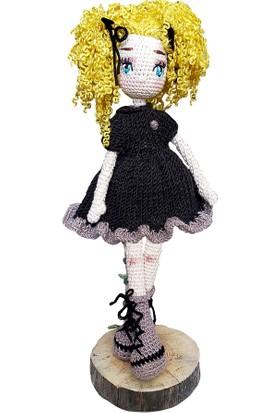 Binbir Baby Parti Kızı Miti Amigurumi Oyuncak Kız Bebek - 39 cm