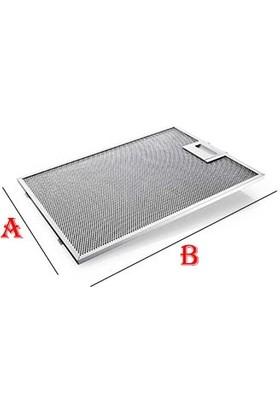Ata Filtre Aspiratör & Davlumbaz Alüminyum Filtresi - 250 X 311 mm Tırnak Arası 7.5 Cm
