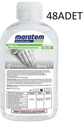 Maratem M105 250 ml x 48 Adet Koli