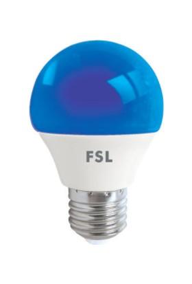 Fsl G45 1,8 W LED Gece Ampulu E-27 Mavi