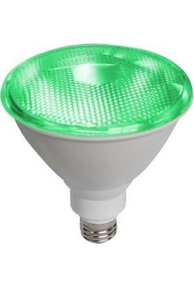 Fsl PAR38 17 W LED Spot Yeşil