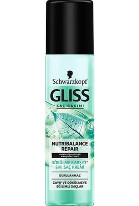 Schwarzkopf Gliss Nutribalance Sıvı Saç Kremi 200 ML