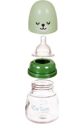 Yukka 60 ml Cam Biberon Bebek Düz Burunlu Kristal Elmas Cam