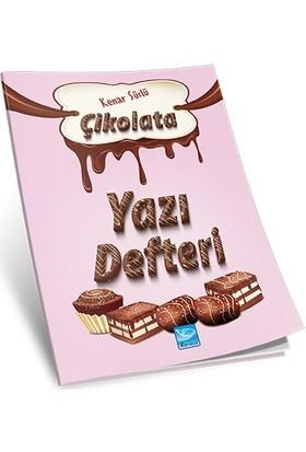 Karaca Yayınevi Çikolata Yazı Defteri Kenar Süslü - 64 Sayfa