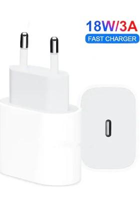 Protech Apple iPhone 11/11 Pro Max Hızlı Şarj Aleti Set 18W USB C Adaptör