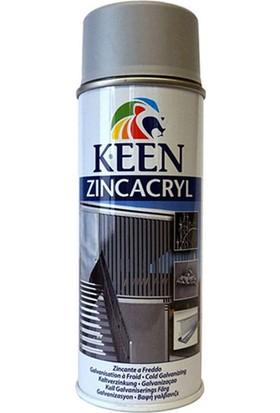 Keen Zinc Acryl Sprey Boya 400ML 35003 Çinko Alüminyum