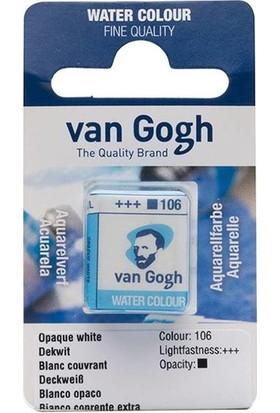 Van Gogh Tablet Sulu Boya Yedek Opaque White 106