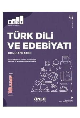 Ünlü 10. Sınıf Best Türk Dili Ve Edebiyatı Konu Anlatım