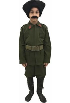 Dilek Kostüm Çocuk Atatürk Kostümü Çanakkale Komutan Kıyafeti