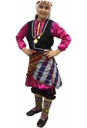 Dilek Kostüm Karadeniz Kız Folklör Kostümü