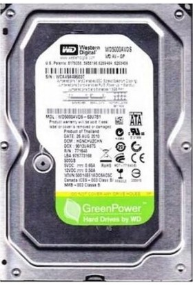 Western Digital 500GB 7200RPM 32MB Sabit Disk WD5000AADS