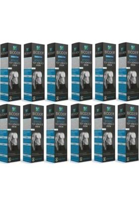 Bioder Bitkisel Tüy Dökücü Krem Erkeklere Özel 100 ml x 12 Adet