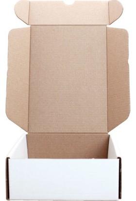 Unipak Beyaz Kilitli Küçük Ürün Hediyelik Eşya Kutusu 10 x 7 x 4 cm 50'li