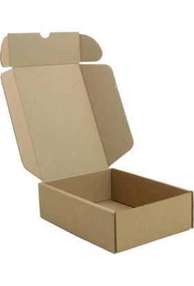 Unipak Kraft Kilitli Küçük Ürün Hediyelik Eşya Kutusu 10 x 7 x 4 cm 50'li