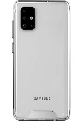 Gpack Samsung Galaxy A31 Kılıf Gard Nitro Sert Silikon Şeffaf