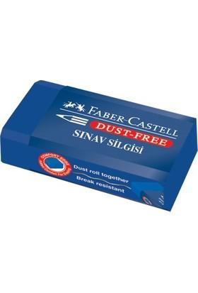 Faber-Castell 187170 Sınav Silgisi, Dust-Free,24lü
