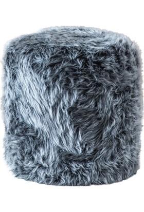 Zeen Concept Gondol Blue Peluş Puf