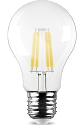 Braytron Led Şeffaf Ampul Rustik 7W Sarı Işık Ba38-00723