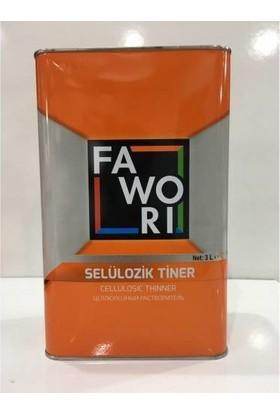 Fawori Selülozik Tiner 3 lt
