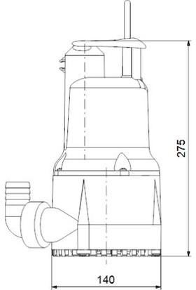 Grundfos Kpc 24/7 270 1X220 50Hz Schuko Cn