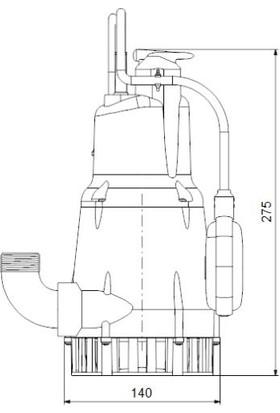 Grundfos Kpc 300 A 1X220 50Hz Schuko Cn