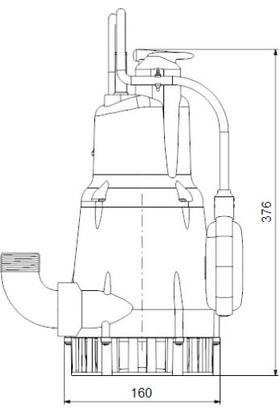 Grundfos Kpc 600 A 1X220 50Hz Schuko Cn