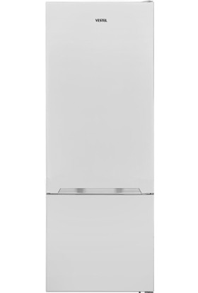 Vestel NFK520 A++ 520 lt Kombi Tipi No-Frost Buzdolabı