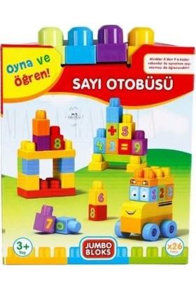 Best Toys Jumbo Bloks Kutulu Sayı Otobüsü
