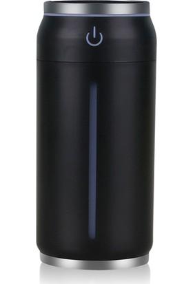 Yukka Mini Oda Nemlendirici Işıklı Fan USB Sessiz Ofis Ev Araba İçin Kuzey Işıkları (Yurt Dışından)