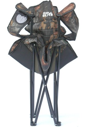 Graywolf Katlanır Kamp Sandalyesi (Ağaç Desen)