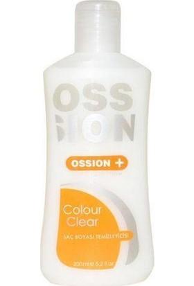 Ossion Colour Clear Saç Boyası Temizleyicisi 200 Ml
