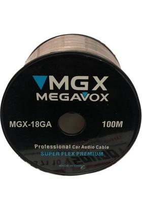 Megavox 18GA Araç Ses Kablosu 100 m