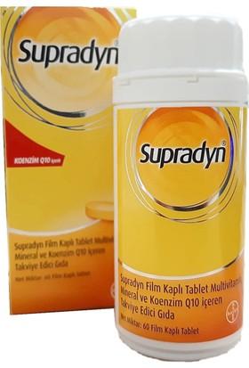 Supradyn Activo Koenzim Q10 İçeren Multivitamin 60 Tablet