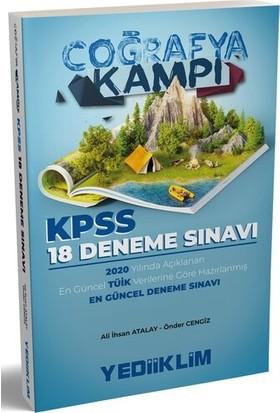 Yediiklim Yayınları 2020 Kpss Coğrafya Kampı Tüik Verilerine Göre Hazırlanmış 18 Deneme Sınavı