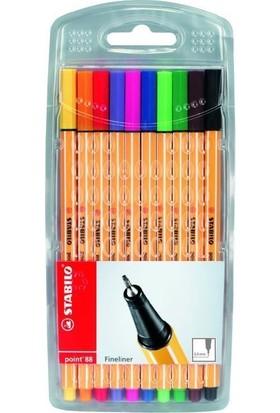 Stabılo Glıss Kalem Poınt 88 10 Renk 8810/77