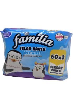 Familia Islak Havlu 60 x 3'lü Paket