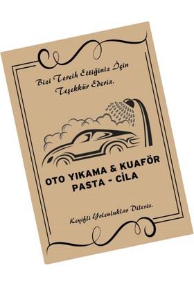 Doğuş Kalın Kraft Oto Paspas / 100 Adet / Dikey 35 x 50 cm