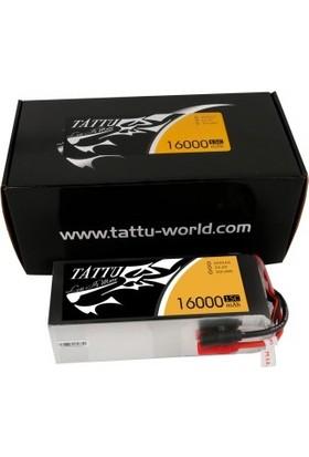 Tattu 16000mAh 22.2V 15/30C 6S1P Lipo Batarya