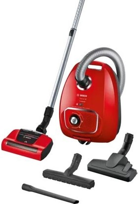 Bosch BGLS4PET2 600W Toz Torbalı Süpürge Proanimal Kırmızı
