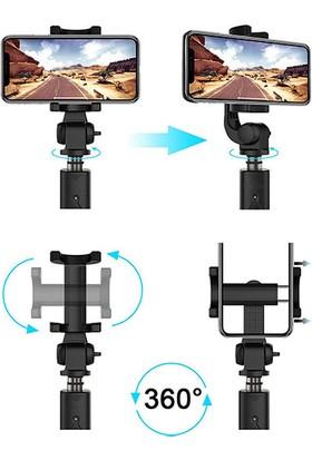 Addison ATR-400 186MM -700MM Bluetooth Kontrollü Selfie Çubuğu + Tripod