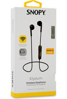 Snopy SN-BT160 Elysium Mobil Telefon Uyumlu Bluetooth Kulak Içi Kulaklık Mikrofon