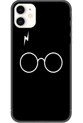 Casethrone Apple iPhone 11 Siyah İçi Kadife Silikon Telefon Kılıfı Sb14 Herrypotter