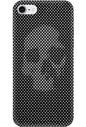 Casethrone Apple iPhone 7 Siyah İçi Kadife Silikon Telefon Kılıfı Sb05 Yıldızlıkurukafa