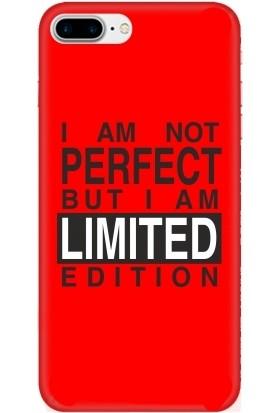 Casethrone Apple iPhone 7 Plus Kırmızı İçi Kadife Silikon Telefon Kılıfı Kr61 Perfect