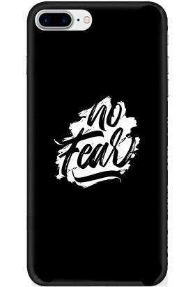 Casethrone Apple iPhone 7 Plus Siyah İçi Kadife Silikon Telefon Kılıfı Sb45 Toke
