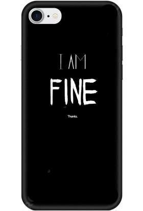 Casethrone Apple iPhone 8 / Se 2020 Siyah İçi Kadife Silikon Telefon Kılıfı Sb31 Fine