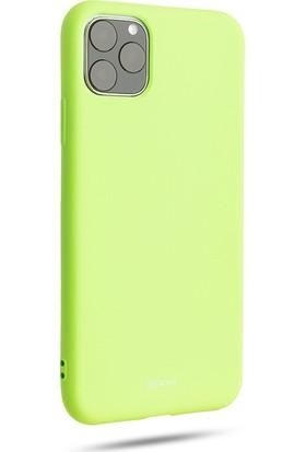 Vendas Apple iPhone 11 Pro Jelly Silikon Ipek Dokulu Roar All Day Serisi Kılıf - Yeşil