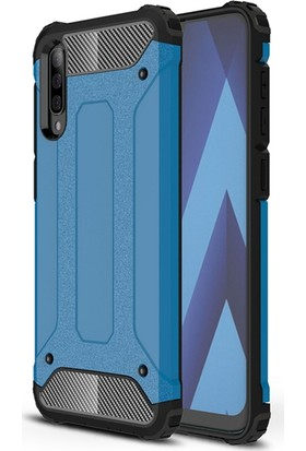 Vendas Samsung A50 Secure Serisi Maksimum Korumalı Kılıf - Mavi